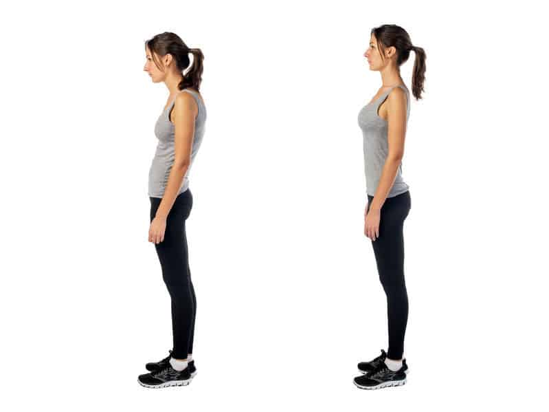 Good posture makes a huge difference to your health - but also makes you feel better and more confident.