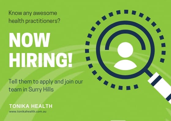 tonika health is looking for awesome team members